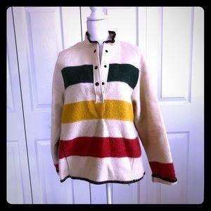 Vintage Woolrich Blanket  Coat
